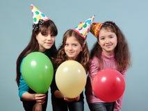 Festa de anos dos miúdos Fotografia de Stock