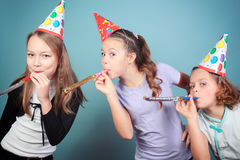 Festa de anos dos miúdos. Foto de Stock Royalty Free