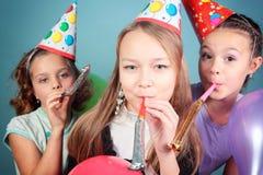 Festa de anos dos miúdos. Fotografia de Stock