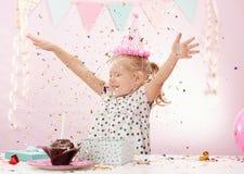 Festa de anos em casa Foto de Stock