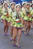Festa de Gran Poder, Bolívia, 2014 Imagem de Stock