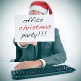 Festa de Natal do escritório Fotografia de Stock