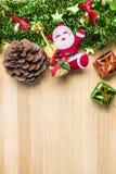Festa del buon anno di simbolo di Natale Fotografia Stock