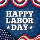 Festa del lavoro americana felice Immagine Stock