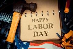 Festa del Lavoro felice Immagini Stock