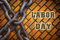 Festa del Lavoro in festa degli S.U.A. Fotografia Stock