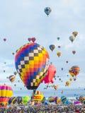 Festa del pallone di Albuquerque Immagine Stock Libera da Diritti