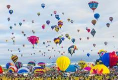Festa del pallone di Albuquerque Immagini Stock