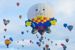 Festa del pallone di Albuquerque Fotografie Stock Libere da Diritti
