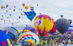 Festa del pallone di Albuquerque Fotografia Stock