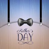 Festa del papà felice illustrazione di stock