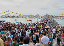 Festa del Redentore-Venedig, Italien Lizenzfreie Stockfotografie