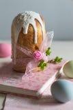 Festa deliciosa da mola da Páscoa Imagem de Stock