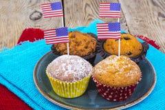 Festa dell'indipendenza americana, celebrazione, concetto di patriottismo - MU Immagini Stock