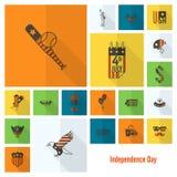 Festa dell'indipendenza degli Stati Uniti Immagini Stock Libere da Diritti