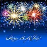 Festa dell'indipendenza degli Stati Uniti Fotografia Stock