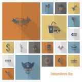 Festa dell'indipendenza degli Stati Uniti Immagine Stock