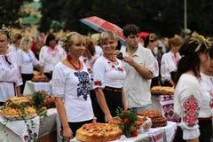 Festa dell'indipendenza del ` s dell'Ucraina Fotografia Stock