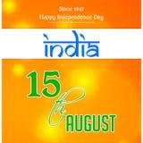 Festa dell'indipendenza dell'India Immagini Stock Libere da Diritti