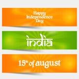 Festa dell'indipendenza dell'India Immagine Stock Libera da Diritti