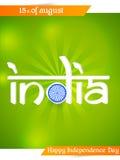 Festa dell'indipendenza dell'India Immagine Stock