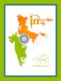Festa dell'indipendenza dell'India Immagini Stock
