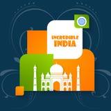 Festa dell'indipendenza dell'India Fotografie Stock