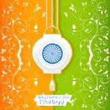 Festa dell'indipendenza dell'India Fotografie Stock Libere da Diritti