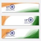 Festa dell'indipendenza dell'India quindicesimo di augusto Fotografie Stock