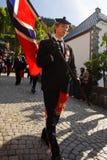 Festa dell'indipendenza della Norvegia Fotografie Stock Libere da Diritti