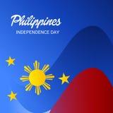 Festa dell'indipendenza di Filippine illustrazione di stock