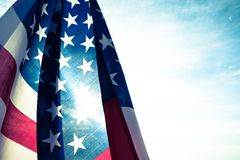 Festa dell'indipendenza di U.S.A., il 4 luglio Stile dell'annata fotografia stock libera da diritti