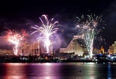 Festa dell'indipendenza, Eilat, Israele Fotografia Stock Libera da Diritti