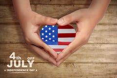 Festa dell'indipendenza felice fotografia stock