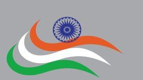 Festa dell'indipendenza felice che desidera clip stock footage