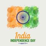 Festa dell'indipendenza dell'India illustrazione di stock