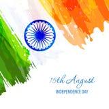 Festa dell'indipendenza indiana Fotografie Stock Libere da Diritti