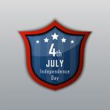 Festa dell'indipendenza 4 luglio Festa dell'indipendenza felice Immagine Stock