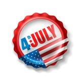 Festa dell'indipendenza 4 luglio U.S.A. festa dell'indipendenza 4 luglio felice Fotografie Stock Libere da Diritti