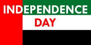 Festa dell'indipendenza negli Emirati Arabi Uniti Immagini Stock