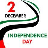 Festa dell'indipendenza negli Emirati Arabi Uniti Fotografie Stock