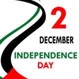 Festa dell'indipendenza negli Emirati Arabi Uniti Fotografia Stock