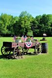 Festa dell'indipendenza, quarto luglio, di Stati Uniti d'America Fotografia Stock Libera da Diritti