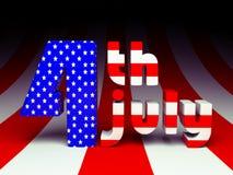 Festa dell'indipendenza Stati Uniti Immagini Stock Libere da Diritti