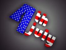 Festa dell'indipendenza Stati Uniti Immagini Stock