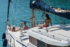 Festa della Grecia fotografia stock