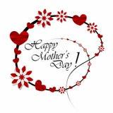 Festa della Mamma felice illustrazione di stock