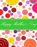Festa della mamma felice illustrazione vettoriale