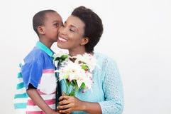 Festa della mamma felice Fotografie Stock Libere da Diritti