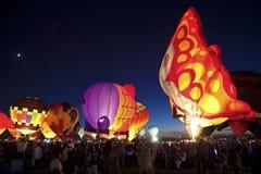Festa della mongolfiera a Albuquerque Fotografia Stock